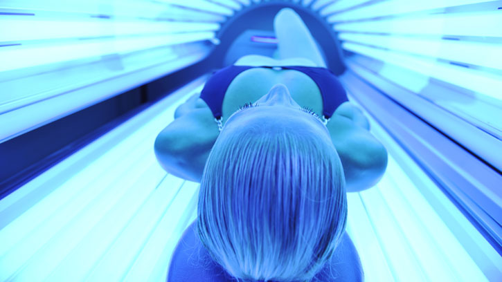 The benefits of using a sunbed